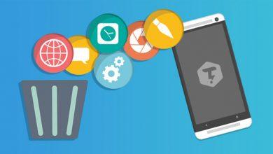 چگونه برنامه های پیشفرض گوشی را حذف کنیم